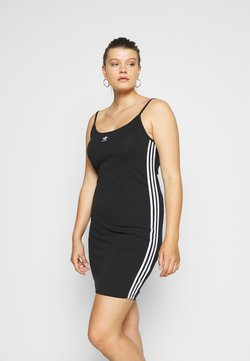 adidas Originals - SPORTS INSPIRED DRESS - Vestido de tubo - black/white