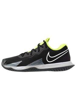 Nike Performance - AIR ZOOM VAPOR CAGE 4 - Zapatillas de tenis para todas las superficies - black/white/volt/dark smoke grey