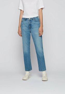 BOSS - Straight leg jeans - turquoise