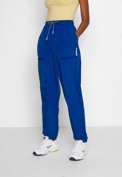 Hummel Hive - STORM OVERSIZED PANTS - Jogginghose - mazarine blue