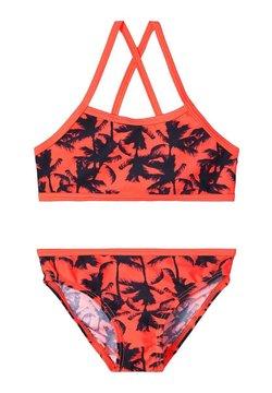 Name it - BIKINI GEMUSTERTER - Bikini - fiery coral
