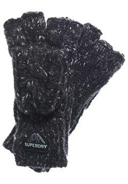 Superdry - GRACIE - Mitaines - black tweed