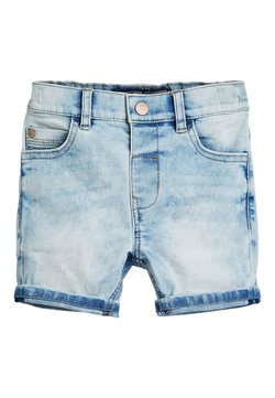 Next - BLUE DENIM SHORTS (3MTHS-7YRS) - Jeansshort - light blue