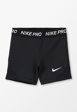 Nike Performance - BOY - Tights - black/white