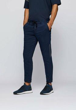 BOSS - Trousers - dark blue
