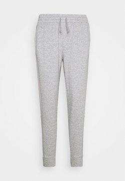 adidas Performance - COLORBLOCK ESSENTIALS - Spodnie treningowe - medium grey heather/solid grey