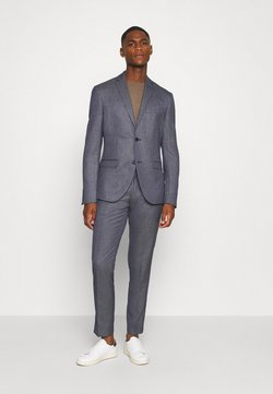 Isaac Dewhirst - TEXTURE SUIT - Costume - blue