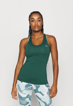 Under Armour - RACER TANK - Funktionströja - saxon green