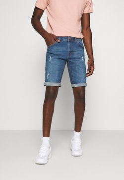 Redefined Rebel - HAMPTON - Szorty jeansowe - light blue