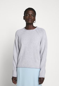 Filippa K - DAHLIA - Stickad tröja - light grey