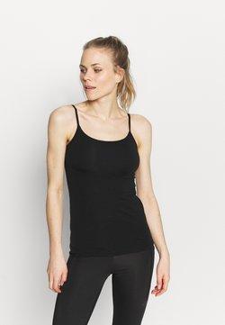 Icebreaker - SIREN BRA CAMI - Camiseta interior - black