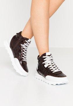 Kennel + Schmenger - ICON - Sneakers hoog - braun/bianco