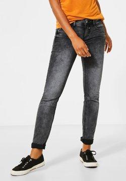 Street One - Jeans Slim Fit - schwarz