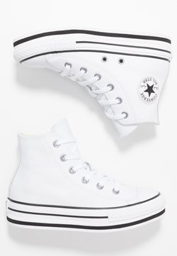 Converse - CHUCK TAYLOR ALL STAR PLATFORM - Baskets montantes - white/black