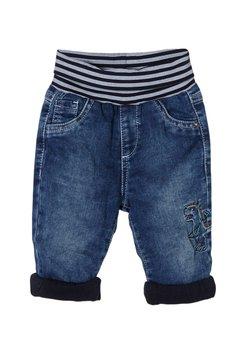s.Oliver - MIT UMSCHLAGBUND - Relaxed fit jeans - medium blue