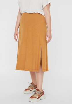 Vero Moda Curve - A-Linien-Rock - buckthorn brown