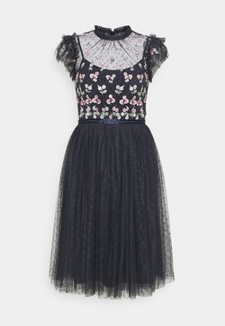 Needle & Thread - ROCOCO BODICE MIDI DRESS - Vestido de cóctel - sapphire sky