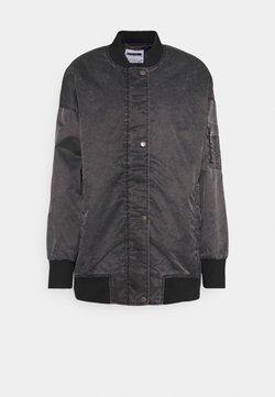 Noisy May - NMCORDY JACKET - Bomber Jacket - black/washed black