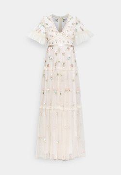 Needle & Thread - MADELINE DITSY SHORT SLEEVE GOWN - Ballkleid - champagne