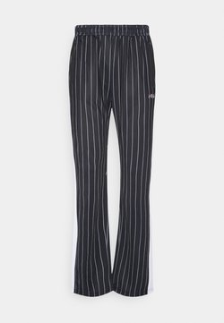 Fila - JAIMI PINSTRIPE TRACK PANTS - Jogginghose - black/bright white