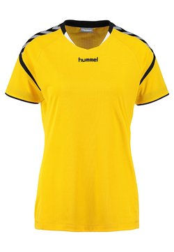 Hummel - AUTHENTIC CHARGE - T-Shirt print - sports yellow