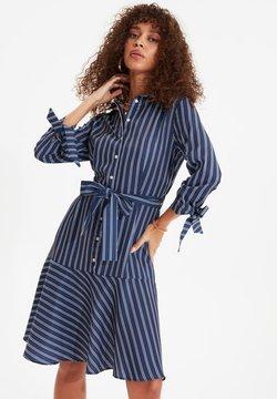 Trendyol - Abito a camicia - navy blue