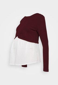 New Look Maternity - Jersey de punto - dark burgundy