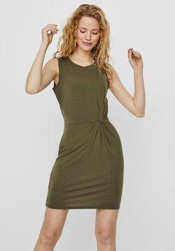 Vero Moda - Vestido de tubo - ivy green