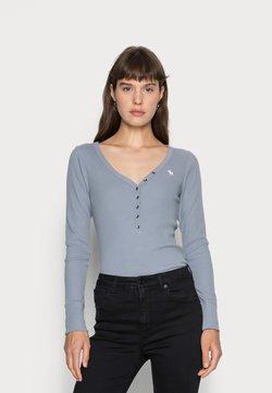 Abercrombie & Fitch - Pitkähihainen paita - blue