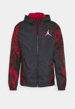 Jordan - Kevyt takki - black/gym red