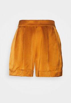 ASCENO - THE ZURICH SHORT - Pyjamabroek - caramel