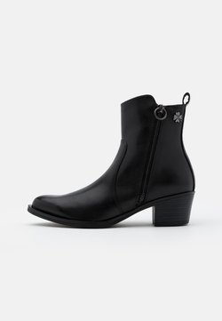 Marco Tozzi by Guido Maria Kretschmer - BOOTS - Santiags - black antic