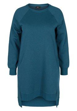Zizzi - Jerseykleid - blue