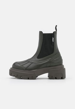 MSGM - STIVALE DONNA BOOT - Platform ankle boots - military green