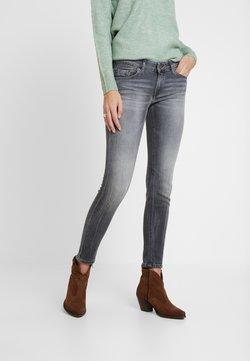Marc O'Polo - TROUSER LOW WAIST - Jeans slim fit - dusty grey smoke wash