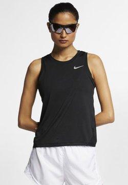 Nike Performance - MILER TANK - Camiseta de deporte - black