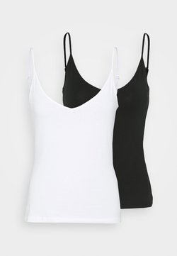 Even&Odd - 2ER PACK - Top - black/white