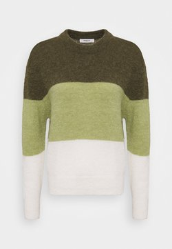 Moss Copenhagen - SERICA - Strickpullover - grape leaf