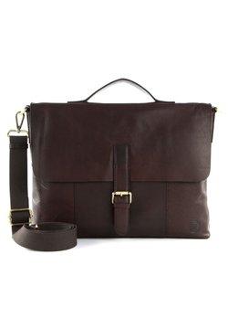 Saddler - ÅLESUND - Notebooktasche - dark brown