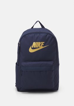 Nike Sportswear - HERITAGE 2.0 UNISEX - Reppu - obsidian/metallic gold