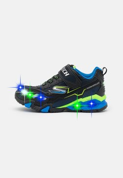 Skechers - HYDRO LIGHTS - Sneaker low - black/blue/lime