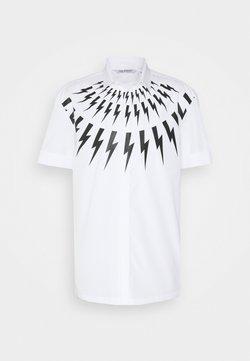 Neil Barrett - THUNDERBOLT  - Overhemd - white/black