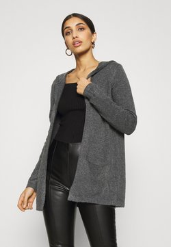 JDY - Strickjacke - dark grey