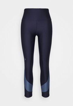 Under Armour - TAPED ANKLE LEG - Tights - midnight navy