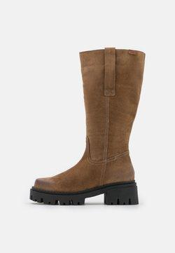 mtng - SKWARE - Platform boots - taupe