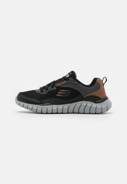 Skechers Sport - OVERHAUL - Sneaker low - black/charcoal