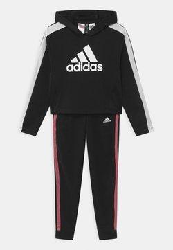adidas Performance - SET UNISEX - Trainingsanzug - black/white