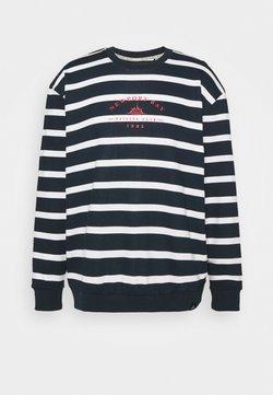 Newport Bay Sailing Club - BOLD HORIZONTAL STRIPE - Sweatshirt - navy/white