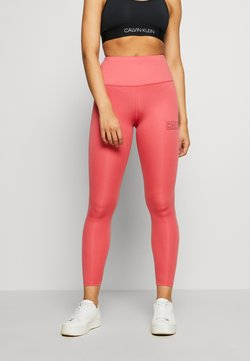 Calvin Klein Performance - FULL LENGTH - Tights - red