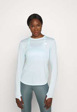 New Balance - ACCELERATE LONG SLEEVE - Funktionsshirt - pale blue chill